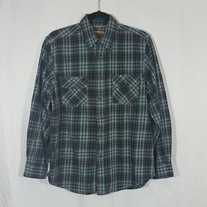 Outdoor Life Flannel Button Down Shirt